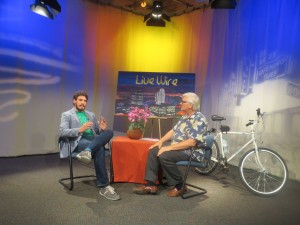 Sacramento Bicycle Kitchen volunteer interviewed on LiveWire