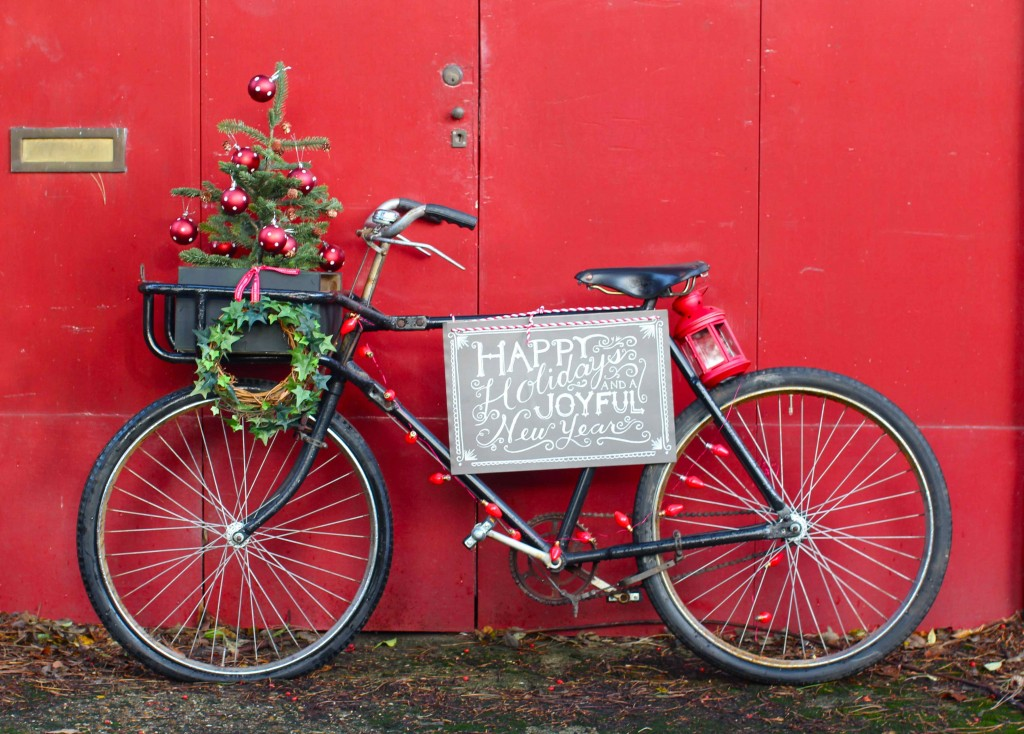 Holiday Decorated Bicycle